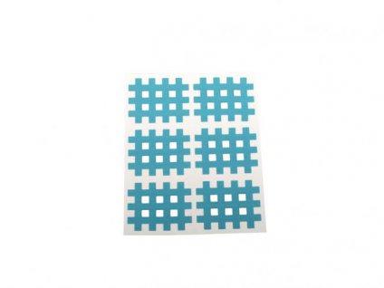Gitter Akupunkturpflaster Form: Gitter 60 St. Blau 28x36mm