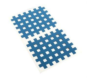 Gitter Akupunktur Tape Akkupunkturtape blau 40 St. 4,4 x 5,2cm