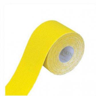 Physiotape gelb, Kinesiologie Sporttape, 5.5 mtr x 5 cm