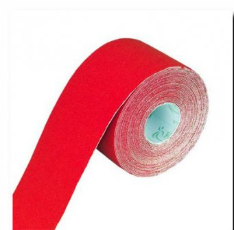 Physiotape rot, Kinesiologie Sporttape, 5.5 mtr x 5 cm