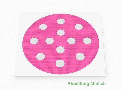 Weltneuheit: Akupunkturpflaster Form: rund gross Pink