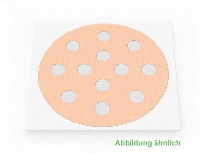 Weltneuheit: Akupunkturpflaster Form: rund, klein Haut