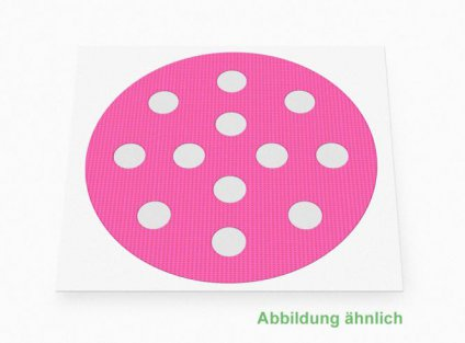 Weltneuheit: Akupunkturpflaster Form: rund, klein Pink