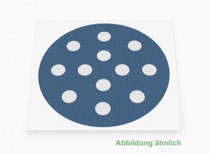Weltneuheit: Akupunkturpflaster Form: rund, klein Blau