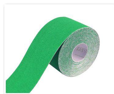 Tapeband von Gatapex gruen, Kinesiologie Sporttape, 5.5 mtr x 5 cm