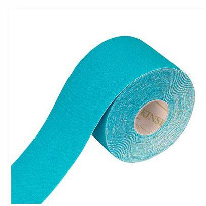 Tapeband von Gatapex hellblau, Kinesiologie Sporttape, 5.5 mtr x 5 cm