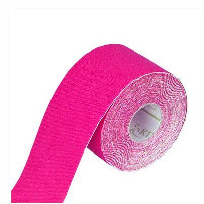 Tapeband von Gatapex pink, Kinesiologie Sporttape, 5.5 mtr x 5 cm